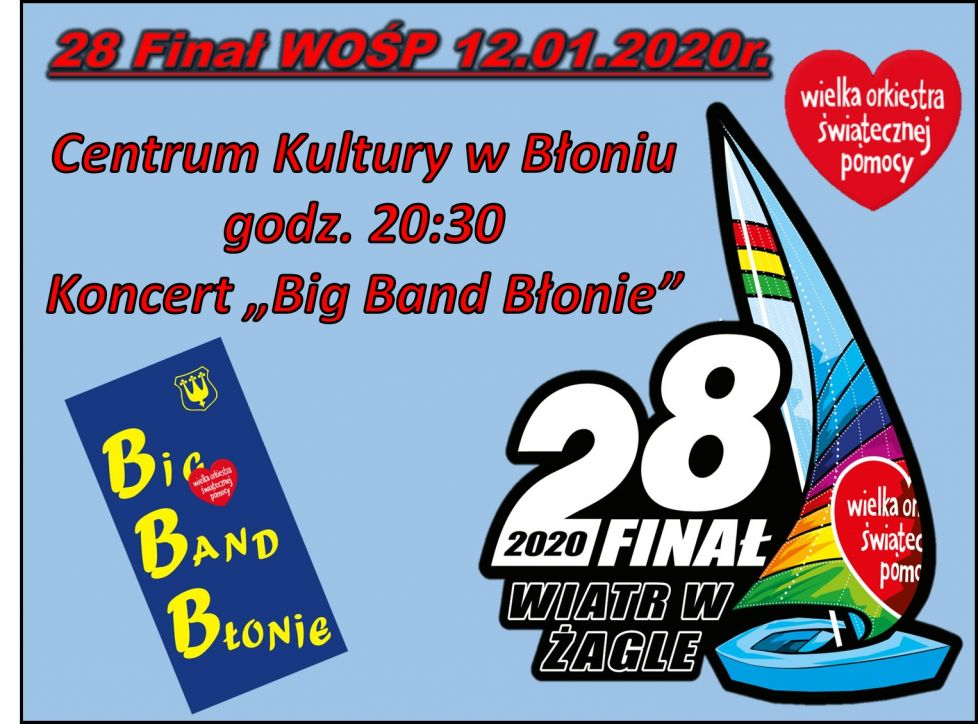Koncert Big Band Blonie - 12.01.2020